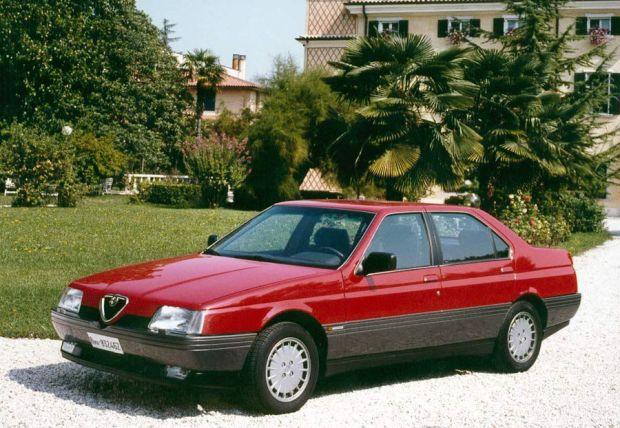 Alpha Romeo 164 Photo Courtesy of Fiat S.p.A.
