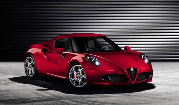 Alfa Romeo 4CPhoto Courtesy of Fiat S.p.A.